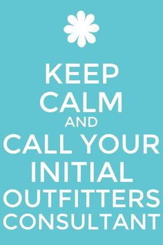 I'm your initial outfitters consultant! Www.initialoutfitters.net/Leesa