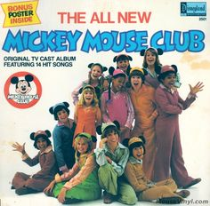 The All New Mickey Mouse Club by Disneyland Records | MouseVinyl.com