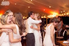 Great example of layering content in a documentary wedding photo! Classic photojournalism move.  :)  From a rustic tent reception in Stowe, VT.