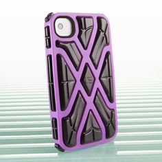 The G-Form Purple X-Protect iPhone 4 Case for Apple iPhone 4 & 4s is peace of mind for your portable device. Just $29.99!