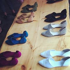Jenni Kayne d'orsay flats in every color!