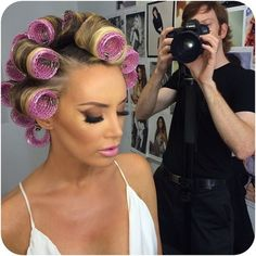 Permed Hairstyles, Modern Hairstyles, Backstage, Hair Curlers Rollers, Different Types Of Curls, Getting A Perm, Air Dry Hair, Curly Hair Styles, Hair Cuts