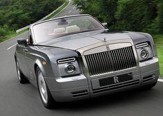 Rolls Royce Drophead On Road
