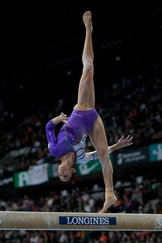Elsa Garcia gymnast women's gymnastics  wag balance beam
