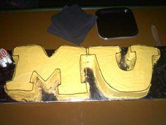 Mizzou cake by Holly Speakes