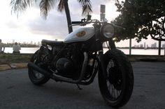 Kawasaki KZ750 Brat Style by 76 Hundred# motorcycles #bratstyle #motos   caferacerpasion.com