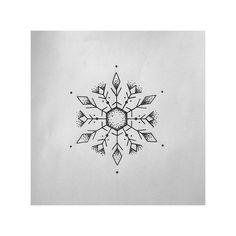 Tattooer#Madrid (@pt78tattoo) on Instagram: Snowflake design tattoo #draw #dibujo #tattoo #tattooed #tattooartist #tattooart #ink #tattoowork #tattooworld #tatuaje #design #tatuajes #tatouage #snow #snowflake #snowflaketattoo #copo #nieve #copodenieve