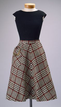 Tina Leser and Bonnie Cashin: Sweater and Skirt, 1950 and 1954    Heilbrunn Timeline of Art History, The Metropolitan Museum of Art