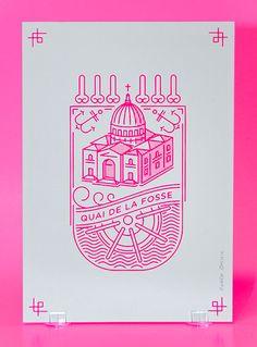 Nantes Rodéo Basilic a réalisé une série de cartes personnalisées intitulée…