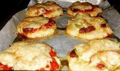Zabpelyhes túrós puffancs (paleo változatban is! Paleo, Baked Potato, Diet Recipes, Potatoes, Baking, Ethnic Recipes, Food, Diets, Yogurt