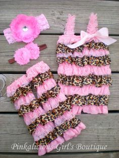 Hey, I found this really awesome Etsy listing at http://www.etsy.com/listing/157410149/baby-girl-leopard-cheetah-print-pink