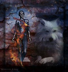 Female Grim Reaper, Wolves And Women, Wolf Quotes, Female Images, Fantasy, Drawings, Mythological Creatures, Painting, Animals