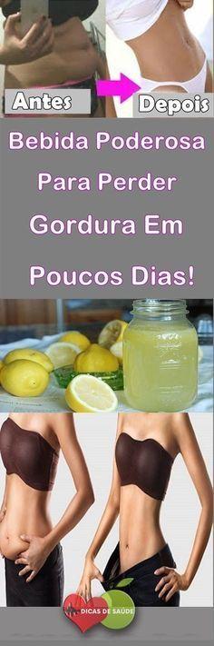 Bebida Poderosa Para Perder Gordura Em Poucos Dias! #dicas, #emagrecer, #dicasdesaúde, #curanatural, #mulher, #fitness, #muscle, #bebida