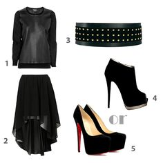 The Avenue Vee: Get the look with high-low skirts