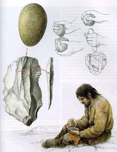 Flintknapping; ok so it's not specific to boyscouts, but I still think it's useful knowledge for boyscouts to know.