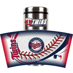 Minnesota Twins 16 oz. Game Ball Travel Tumbler - Navy - $21.99