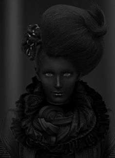 thoma lavell, fashion, art, dark side, color blind, beauti, hair, black friday, photographi
