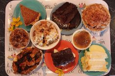 crest cafe dessert tray