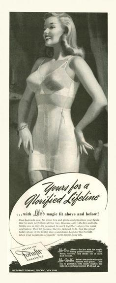 1947 Formfit advertisement via flickr.