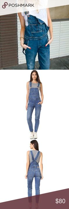 BLANK NYC // Slim Fit Denim Overalls These overalls are crazy flattering. They have a nice medium weight, some stretch, and legs that slightly taper for a more flattering fit. So cute on, just not really my style so never worn!  Fabric: 98% cotton; 2% elastane Fit: Would fit a 25 or 26 Condition: NWT  💝reasonable offers 🙅🏻no trades 🙅🏻no returns - please ask all questions b4 🛒! Blank Denim Jeans