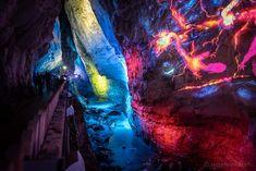 «Light Ragaz» - Lichtspektakel in der sagenumwobenen Taminaschlucht   #LightRagaz #BadRagaz