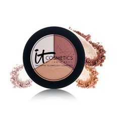 IT Cosmetics Luxe High Performance Eyeshadow Trio - Pretty in Amber