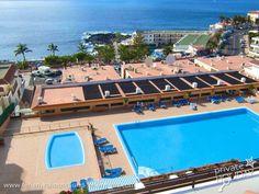 #Apartment mit tollem #Meerblick in Strandnähe in Puerto Santiago im Südwesten von #Teneriffa