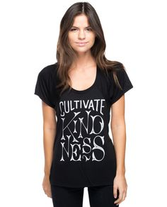 Cultivate Kindness Flowy Raglan
