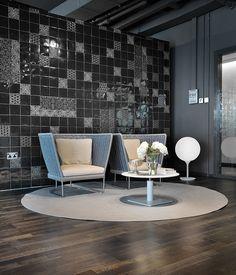 Domenico mori hand made tiles @ Purity Dubai