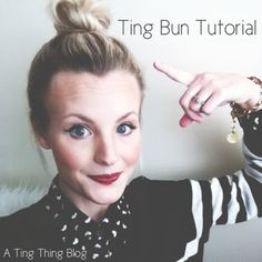 T I N G B U N | a T I N G T H I N G - bun for the ladies with shorter hair :D (like me right now haha)