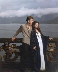 Hayden Christensen & Natalie Portman  I luv'd them as a couple, even if it was fiction