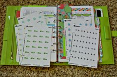 How to make your own planner stickers for your Erin Condren Life Planner of Filofax!