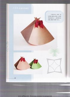 folding boxes: origami books - crafts ideas - crafts for kids Origami Box, Origami Paper, Diy Paper, Newspaper Crafts, Book Crafts, Paper Box Template, Box Templates, Paper Gift Box, Gift Boxes