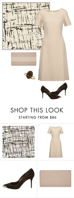 """""""Untitled #440"""" by soleuza ❤ liked on Polyvore featuring Designers Guild, Alexander McQueen, Kate Spade and Dorothy Perkins"""