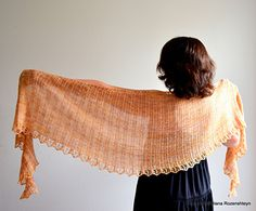 Bella Luna shawl pattern is free with a kit purchase from SparkStory Etsy shop. Kits are offered at a slight discount.