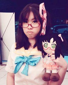 Katana Hoshikawa cosplay by redwolflin Katana, 21st, Ruffle Blouse, Cosplay, Friends, Instagram Posts, Cute, Handmade, Women