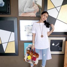 Fashion 101, Asian Fashion, Womens Fashion, Heart Evangelista Style, Filipina Actress, Casual Jeans, Asian Style, Classy Outfits, Glowing Skin