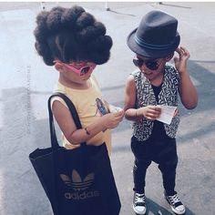 Black girls are magic. Let them be Black girls. Beautiful Children, Beautiful Babies, Cute Kids, Cute Babies, Divas, Curly Hair Styles, Natural Hair Styles, Natural Curls, Pelo Afro