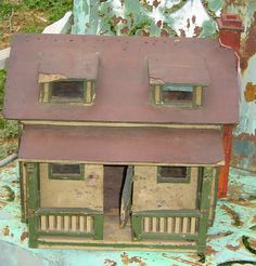 Find This Pin And More On Miniature Houses U0026 Other Buildings.