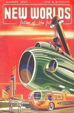 New Worlds 1950-Summer