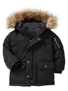 Nathans jacket this winter Snorkel jacket | Gap