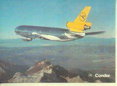 Condor DC-10 Postcard