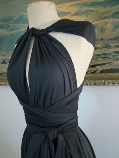 Submarine Charcoal Octopus Convertible Wrap by CoralieBeatrix, $79.99