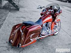 Screamin' Regal | 2007 Harley-Davidson Road Glide | Baggers