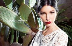 Katie King Stars in Dolce & Gabbana Baroque Jewelry 2013 Campaign