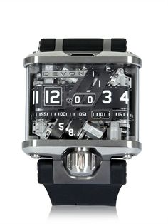Devon - Tread 1 Watch (That is the most unusual piece of arm mechanics I've ever seen.)