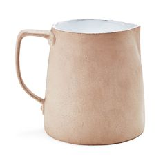 Lovely. And available through one of my favorite places on earth. —Astier de Villatte Small Earthen Pitcher