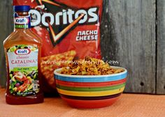 This taco salad with Doritos might be just what you are looking for!
