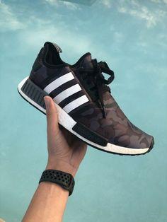 97b218c76c71 Adidas x Bape NMD R1 Black Camo SIZE us 10.5  fashion  clothing  shoes   accessories  mensshoes  athleticshoes (ebay link)
