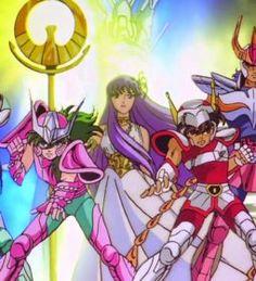 Maiores clássicos dos animes - Saint Seiya